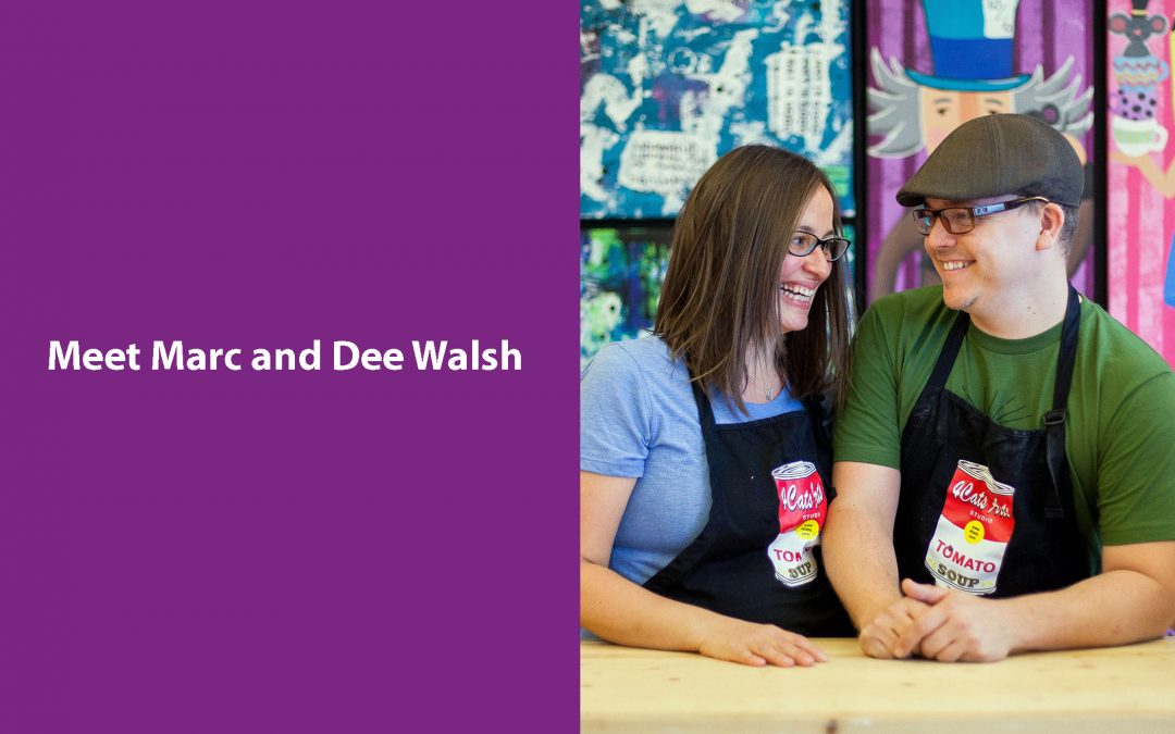 Meet Marc and Dee Walsh: 4 Cats Arts Studio