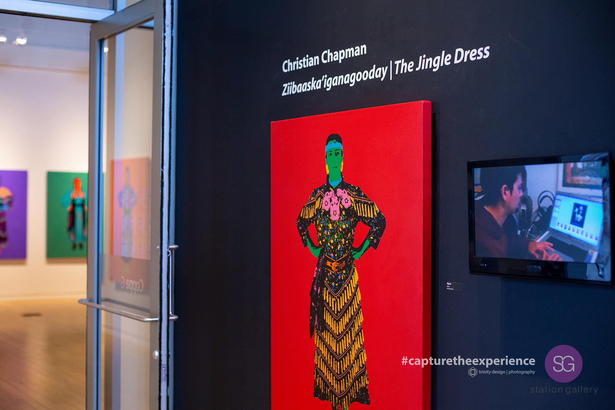 Artist - Christian Chapman Jingle Dresses