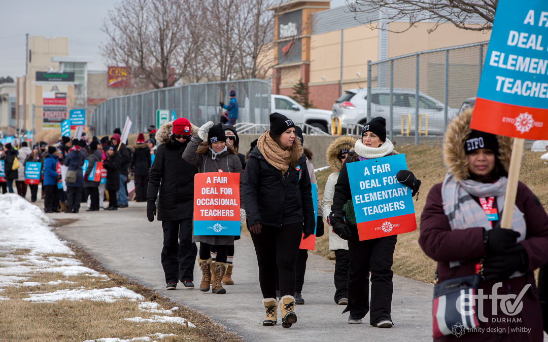 Durham ETFO Event Coverage