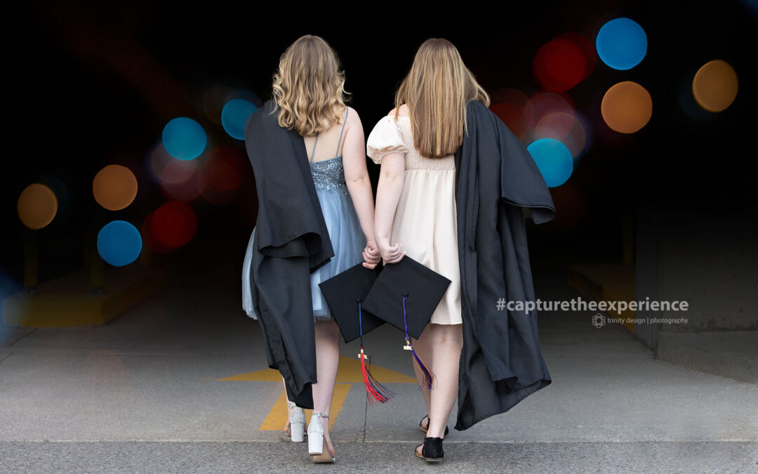 Graduation – Two Sisters in Whitby